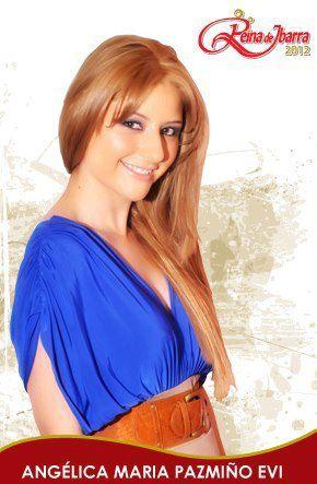 Candidata reina de Ibarra 2012: fotografía Municipio de Ibarra