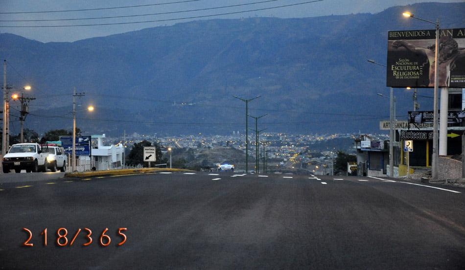 218/365 Regresando a Ibarra