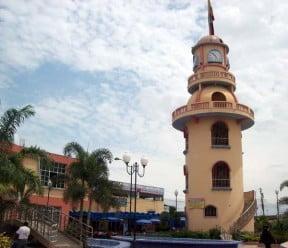 Huaquillas.- Parque Central. foto A27