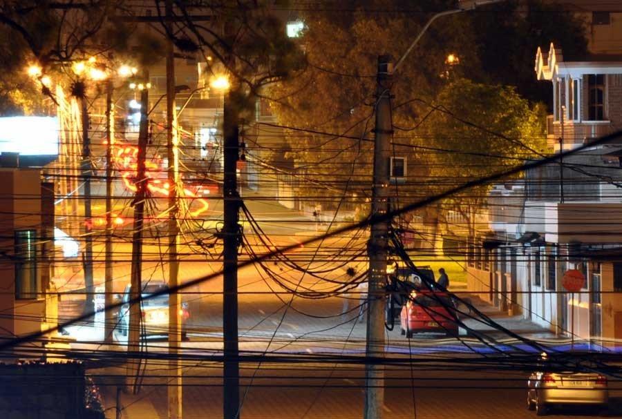 Cables y Luces.- foto Acuario27