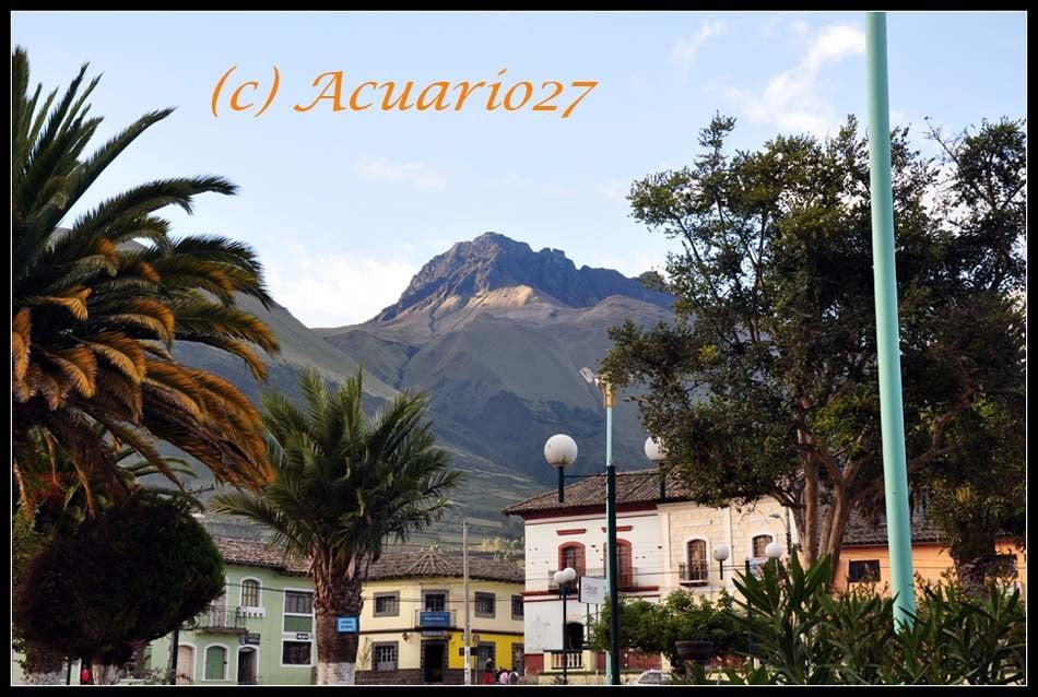 Imbabura parte del Paisaje, San Pablo. Acuario27