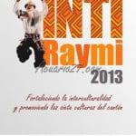 PROGRAMA DE FIESTAS DEL INTI RAYMI 2013