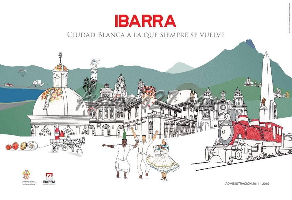 Afiche Fiestas de Ibarra 2014