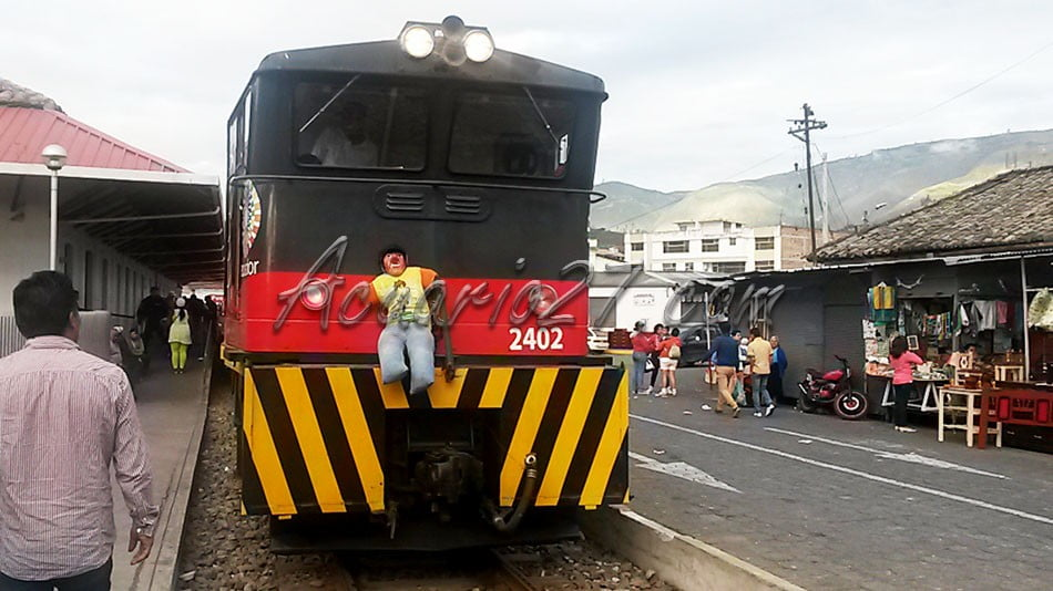 Ferrocarril Ibarra, Año Viejo en la Locomotora 2014-12-31 17.09.