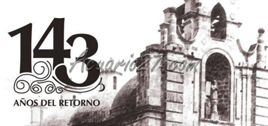 143 Años Fiestas del Retorno Ibarra, fuente: Internet