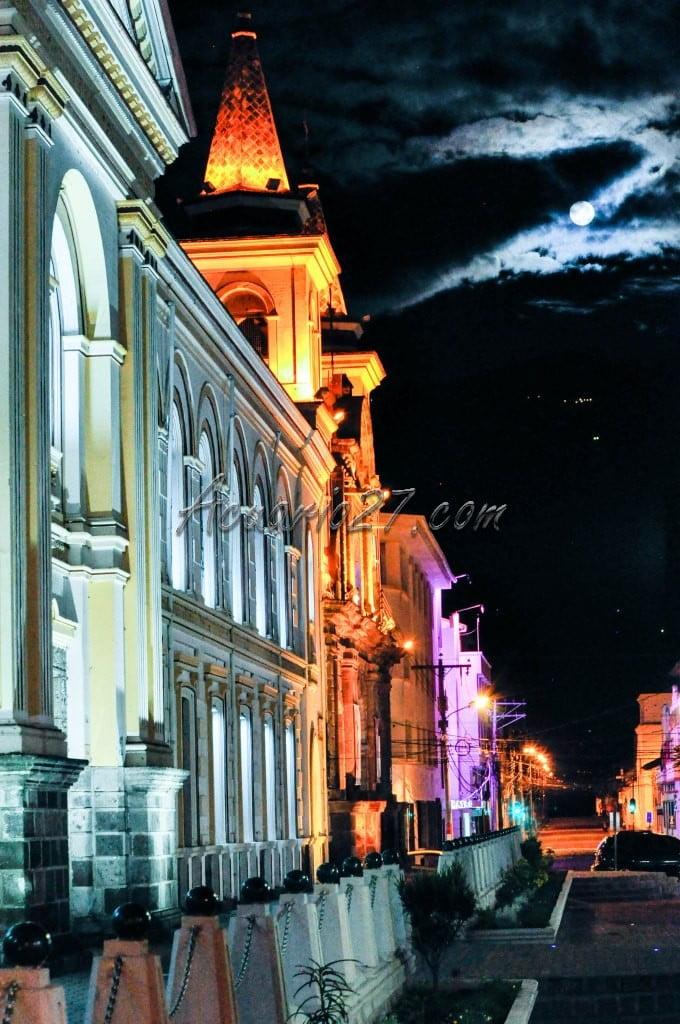 Perfil nocturno. Foto Acuario27