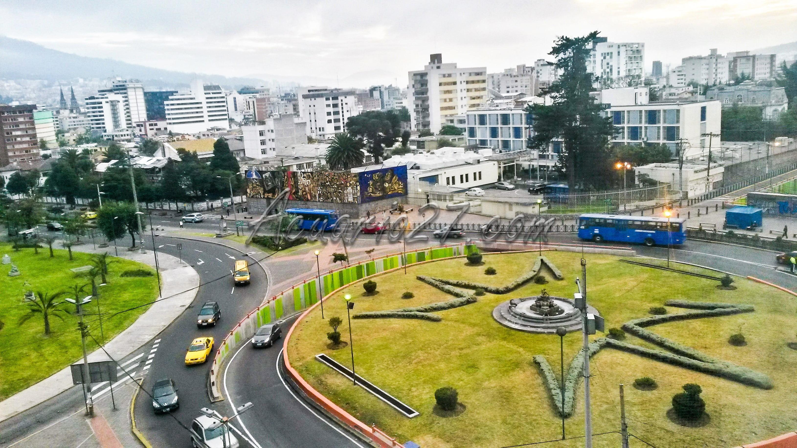 Redondel 12 de Octubre Quito