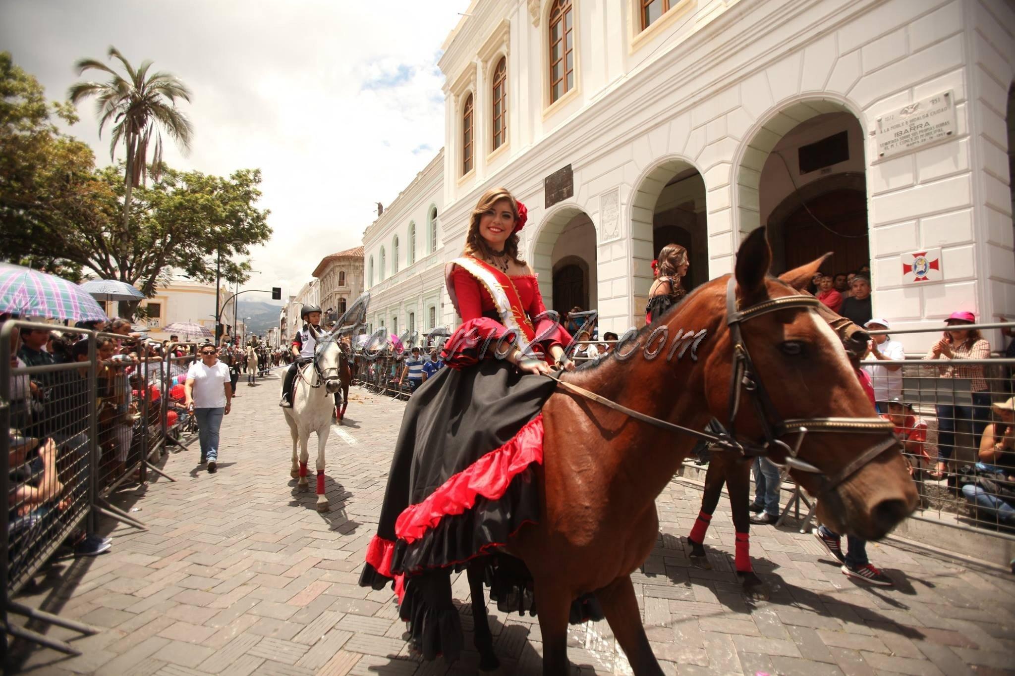Reina de Ibarra, Cacería del Zorro 2016