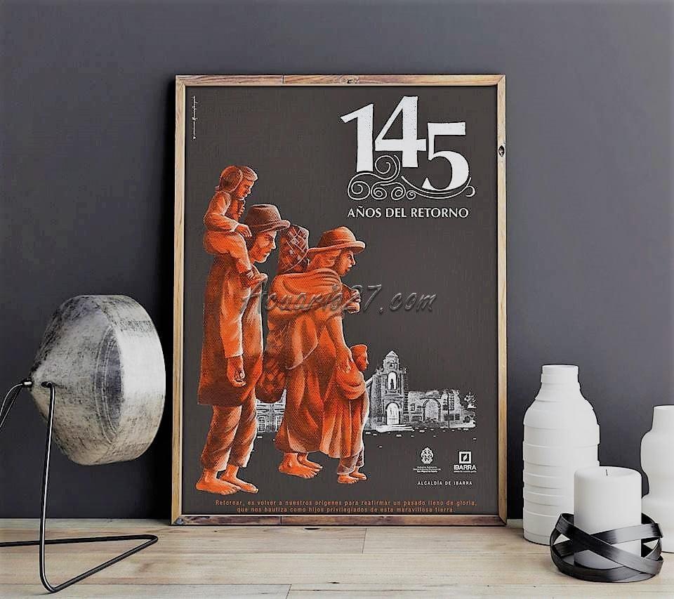Afiche del Retorno. GAD San Miguel de Ibarra.