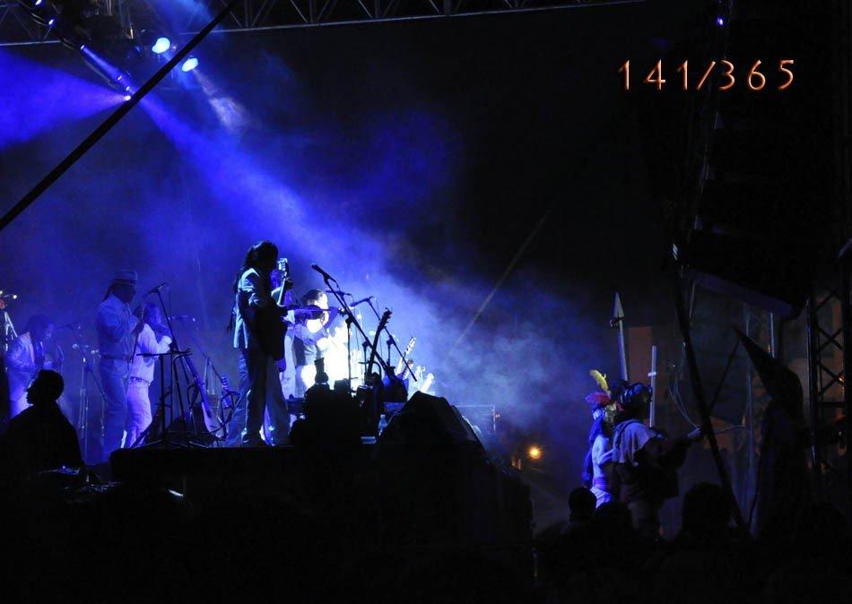 Sisay en concierto