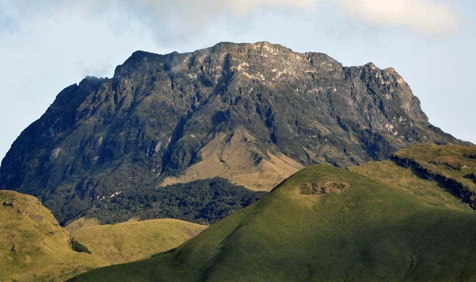 Volcán Imbabura.- Foto: Acuario27