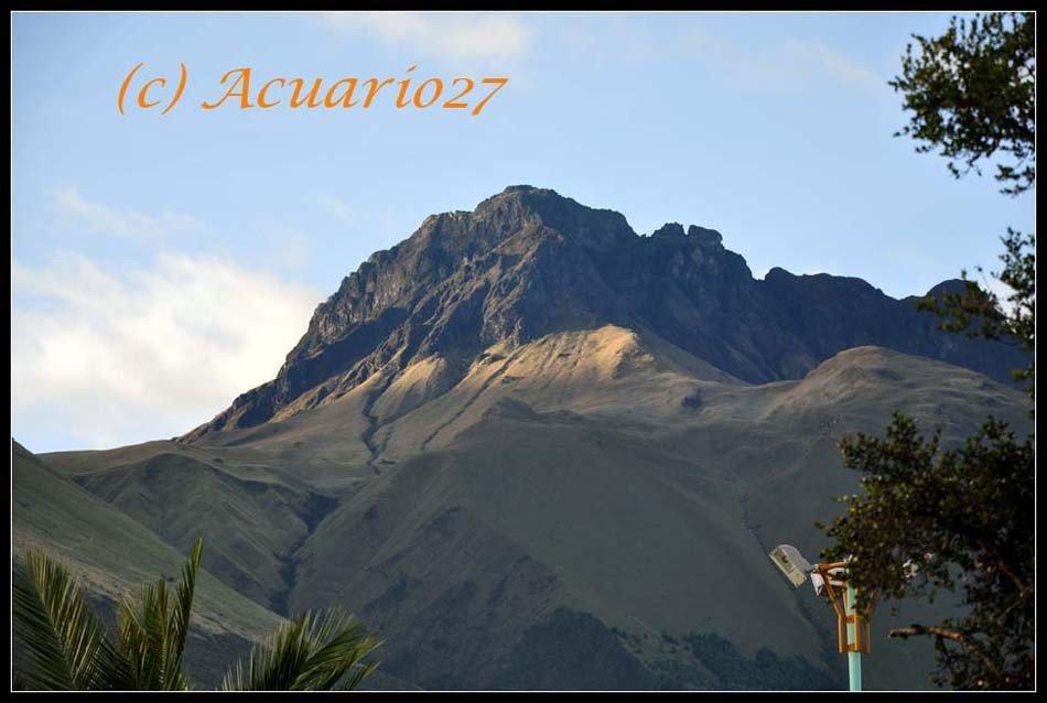 Imbabura. Foto: Acuario27