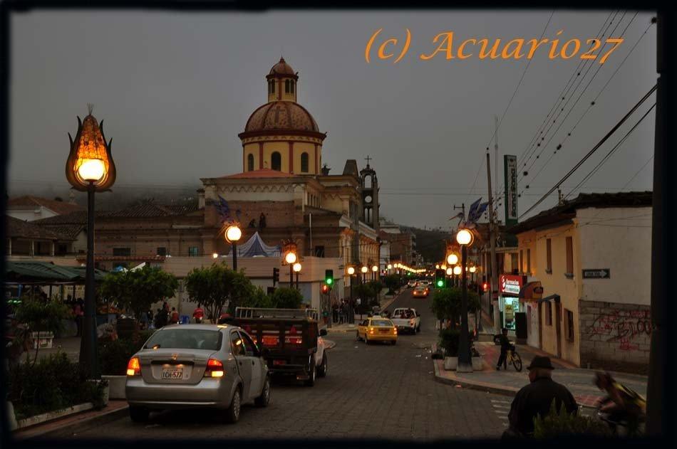 Atardecer en Otavalo: foto Acuario27