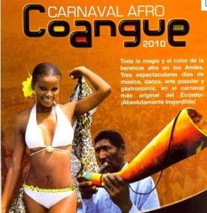 Afiche del Carnaval Coangue 2010