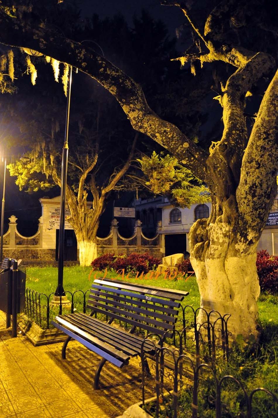 La Espera.- Parque Santo Domingo Ibarra. Foto Acuario27