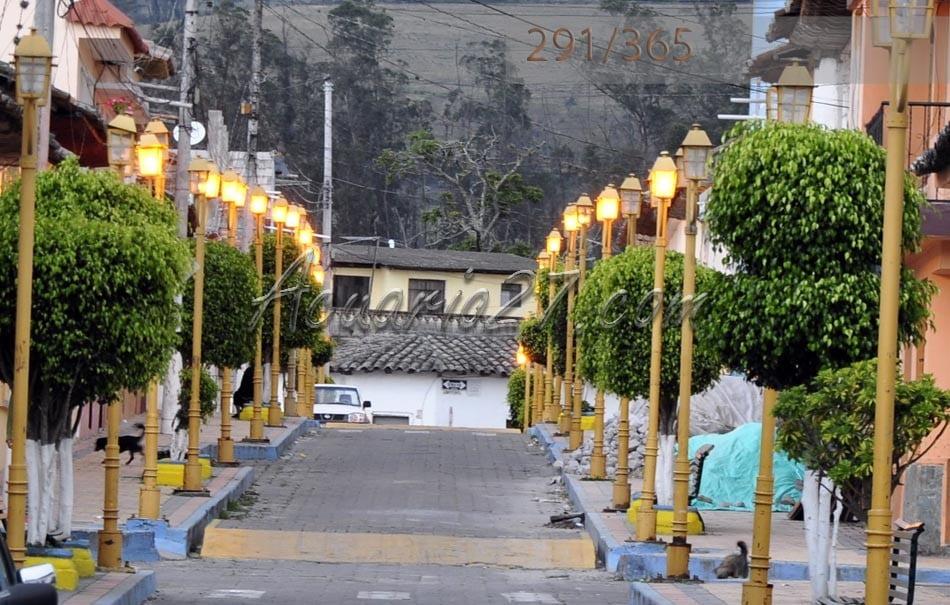 Una de las calles de Urcuquí.- Foto 291