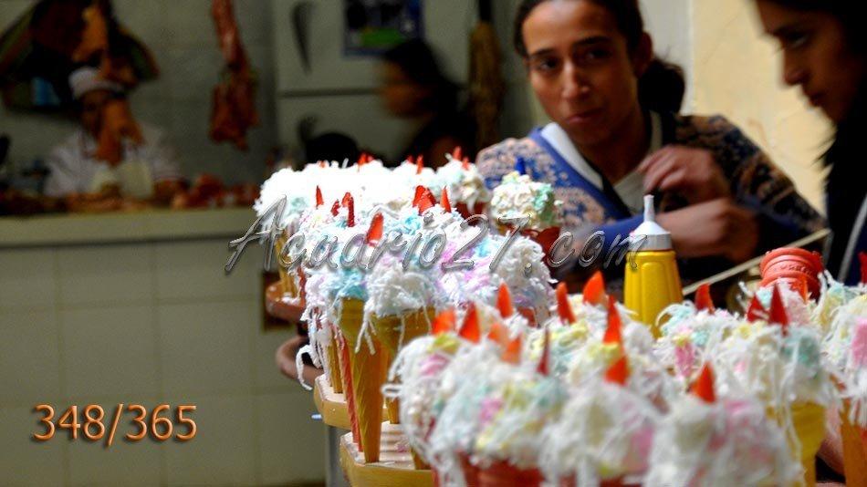 Espumilla. Mercado de Loja
