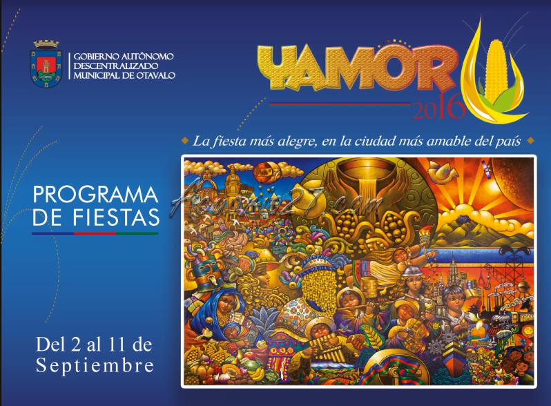 Programa de Fiestas de Yamor 2016