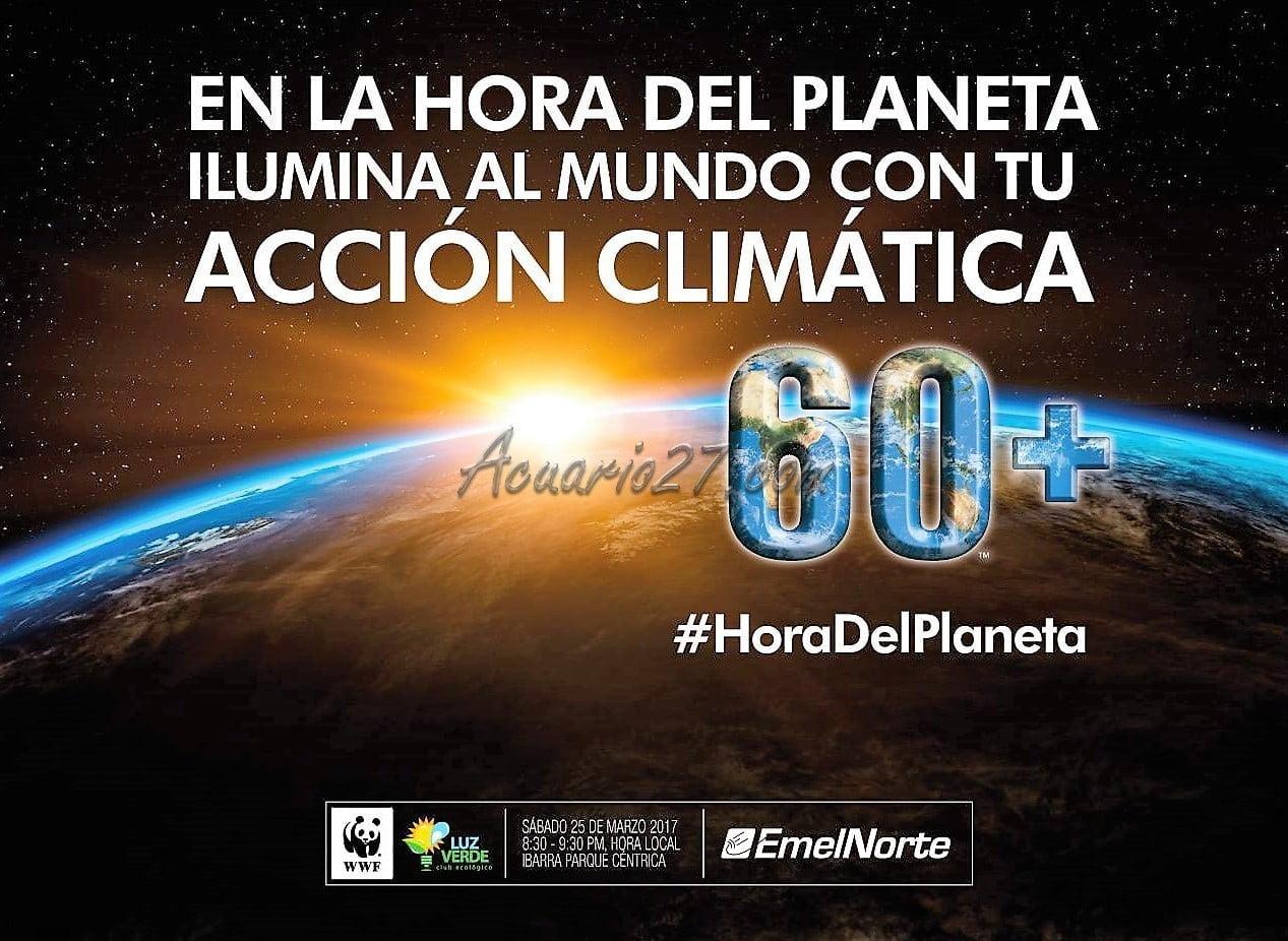 Hora del Planeta Ibarra 2017