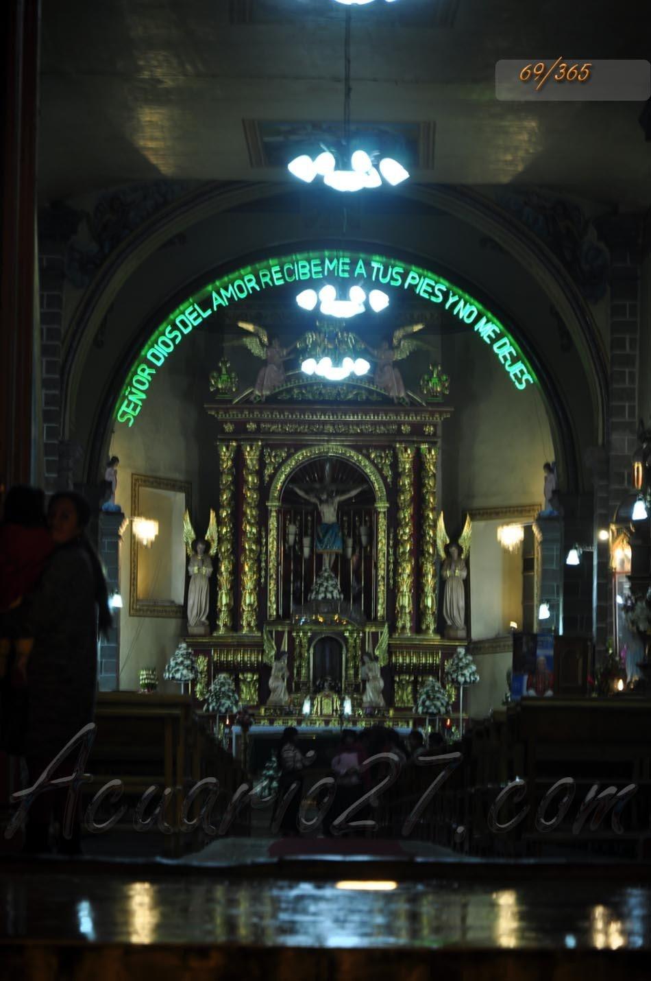 Altar Iglesia de Caranqui