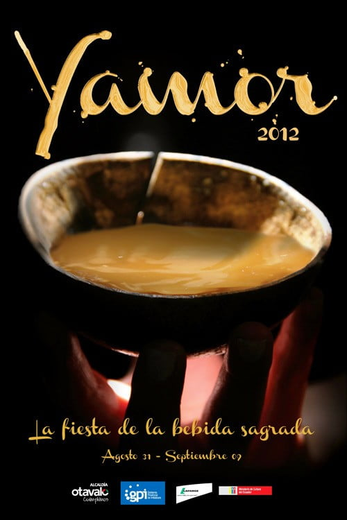 Afiche oficial Yamor 2012