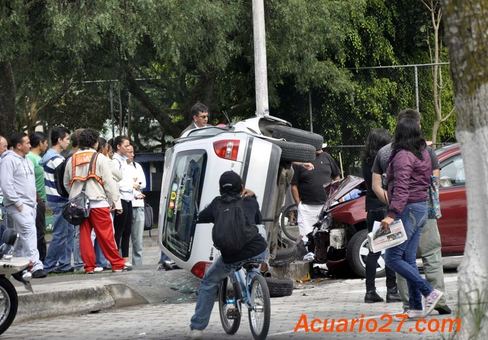 Accidente.- Foto Acuario27