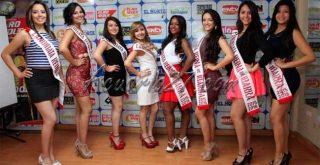 Candidatas a Reina de Ibarra, Foto: diario El Norte