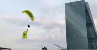 Activistas climáticos de Greenpeace